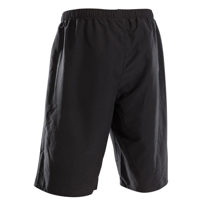กางเกงปั่นจักรยานเสือภูเขาขาสั้นรุ่น ST 100 (สีดำ)