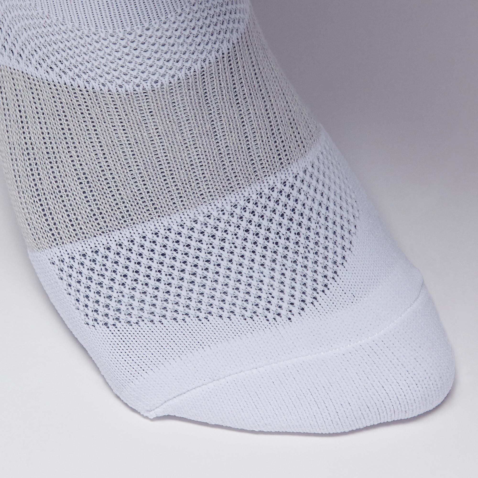 Chaussette de soccer adulte F500 blanche