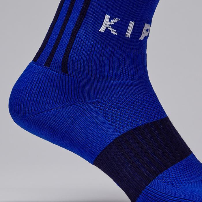 Stutzen Fußball F500 Erwachsene blau indigo