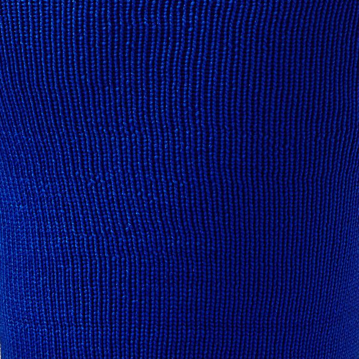 Chaussette de football adulte F500 noire et grise - 1276612