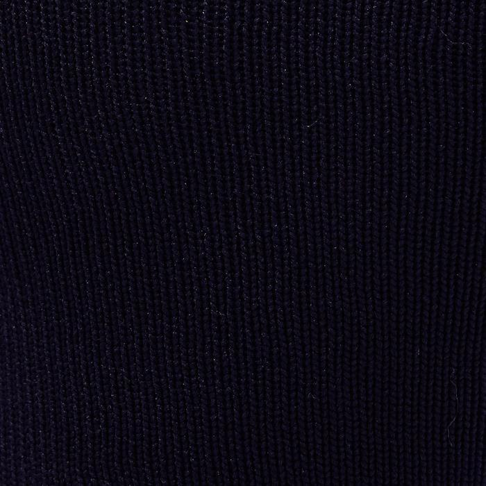 Chaussette de football adulte F500 noire et grise - 1276622