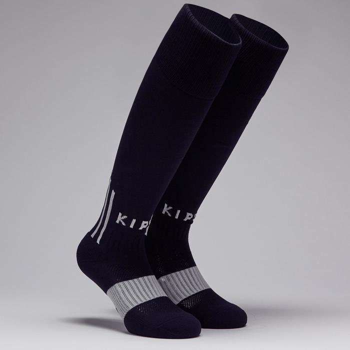 F500 Adult Football Socks - Black/Grey
