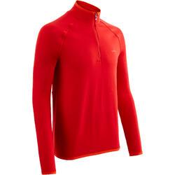 Skiondershirt voor heren Freshwarm 1/2 rits rood