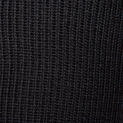 Voetbalkousen voor volwassenen F500 zwart en fluogeel