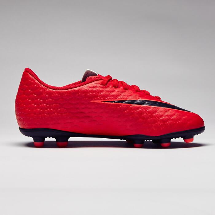 Chaussure de football enfant Hypervenom Phade FG rouge - 1276739