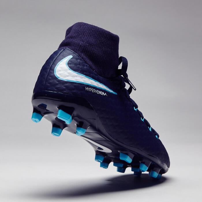 Chaussure de football enfant  Hypervenom FG bleue - 1276764