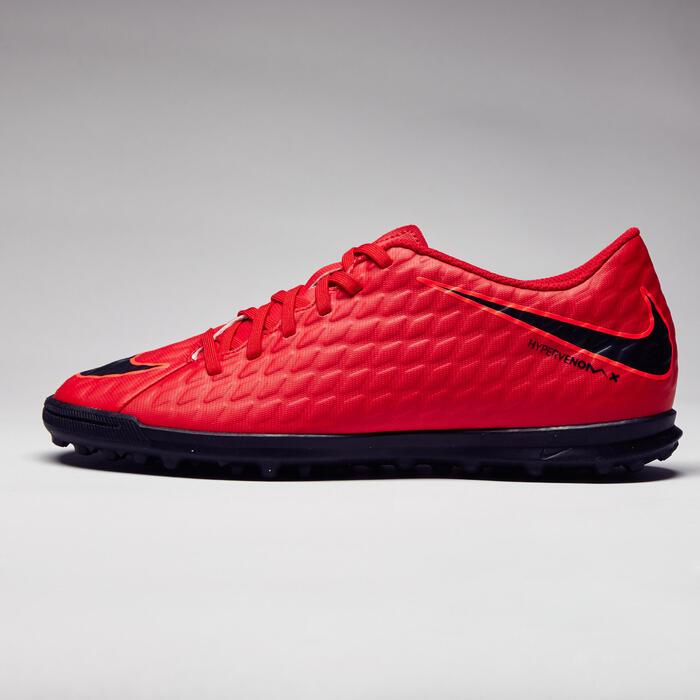 Chaussure football adulte  Hypervenom Phade turf Rouge - 1276773