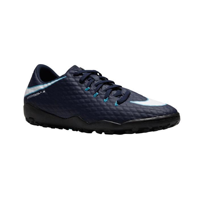 Chaussure de football adulte  Hypervenom Phelon turf bleue