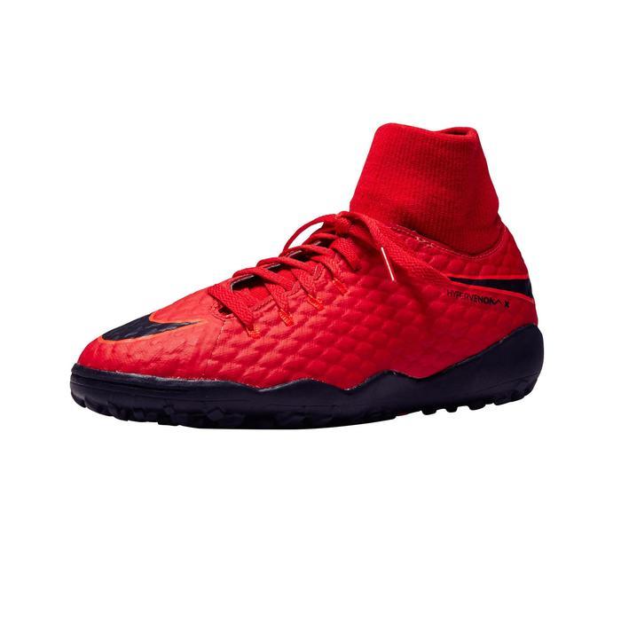 Chaussure de football enfant  Hypervenom X TF rouge