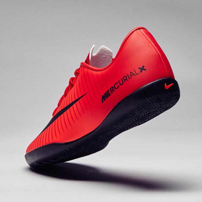 Chaussure de futsal enfant Mercurial X Victory rouge