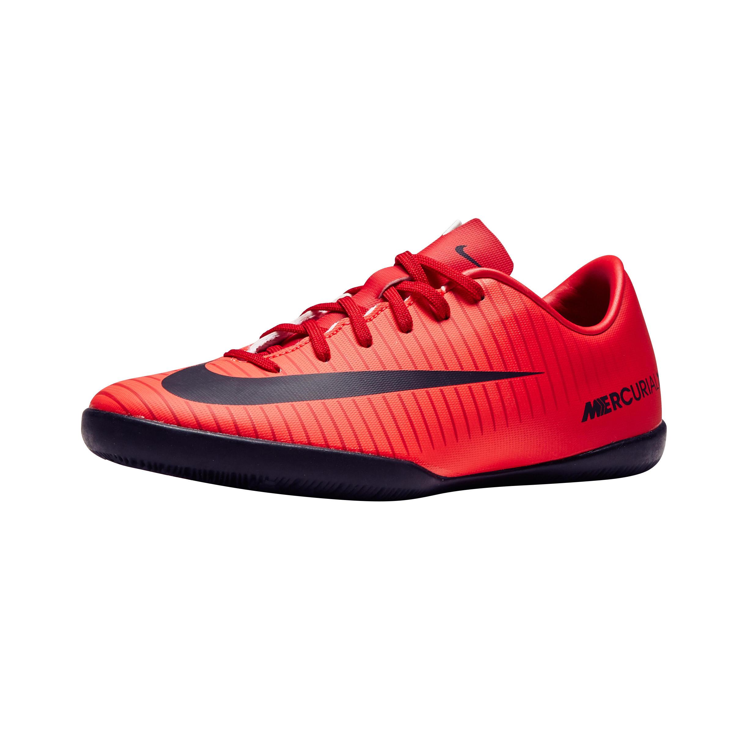 Nike Zaalvoetbalschoenen kind MercurialX Victory VI rood