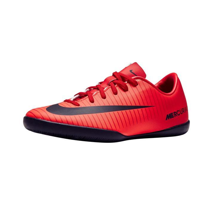 Zaalvoetbalschoenen voor kinderen Mercurial X Victory rood