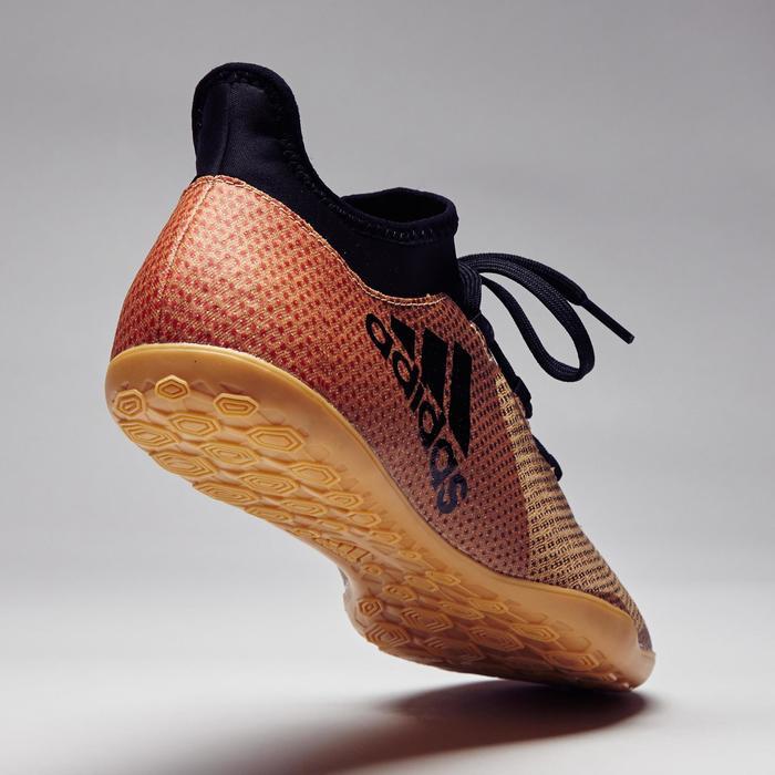 Chaussure de futsal adulte X Tango 17.3 noire or - 1276819
