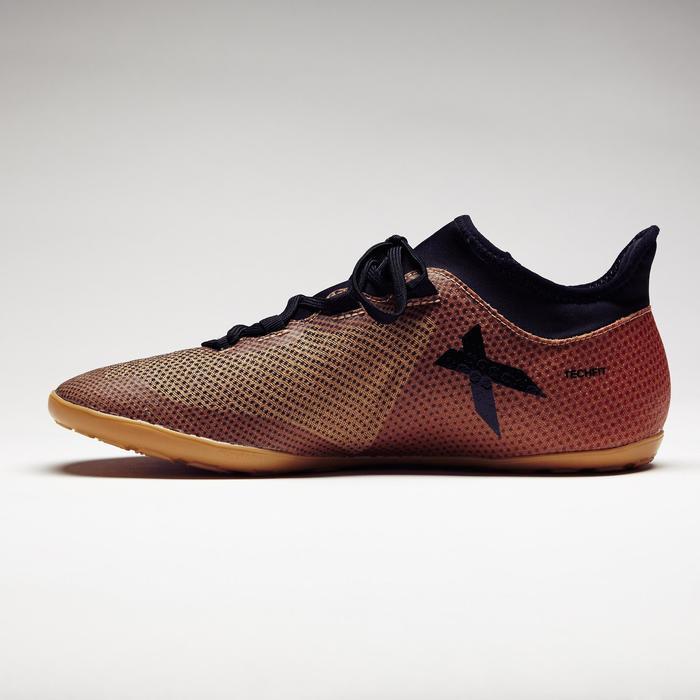 Chaussure de futsal adulte X Tango 17.3 noire or - 1276820