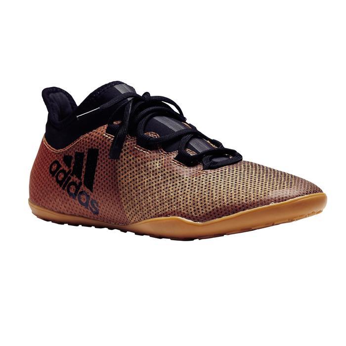 Chaussure de futsal adulte X Tango 17.3 noire or - 1276821