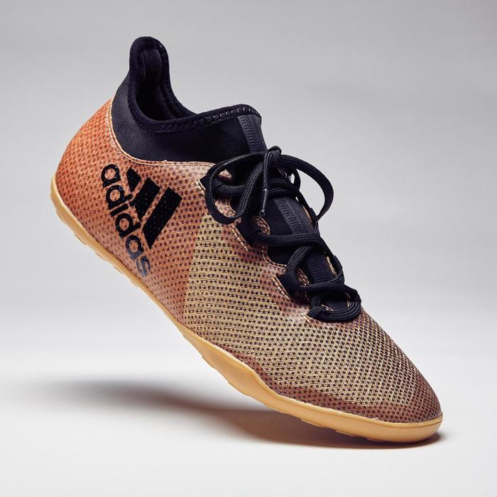 Chaussure de futsal adulte X Tango 17.3 noire or - 1276822