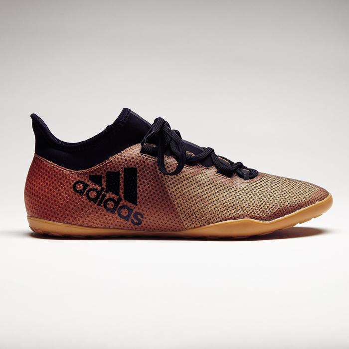 Chaussure de futsal adulte X Tango 17.3 noire or - 1276823