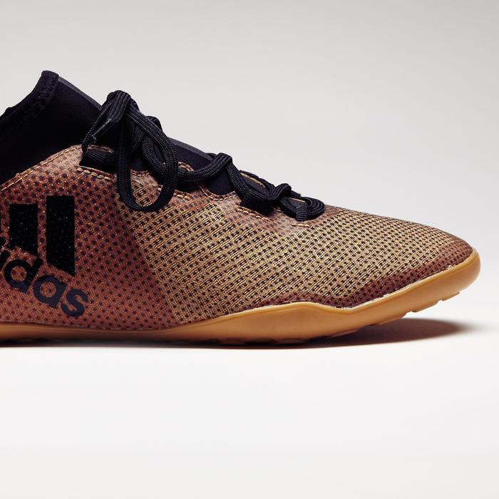 Chaussure de futsal adulte X Tango 17.3 noire or - 1276824