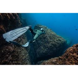 Veste combinaison de chasse sous-marine en néoprène plush 7 mm SPF 100 kaki vert