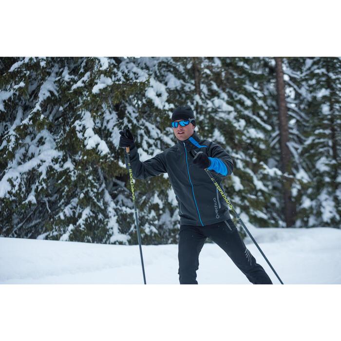 Veste ski de fond coupe vent homme bleue - 1276848