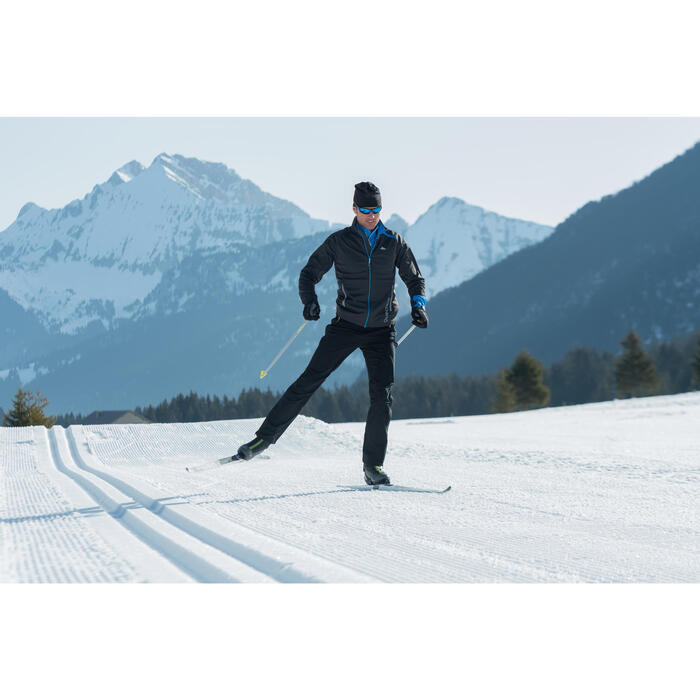 Gorro esquí de fondo Sport negro