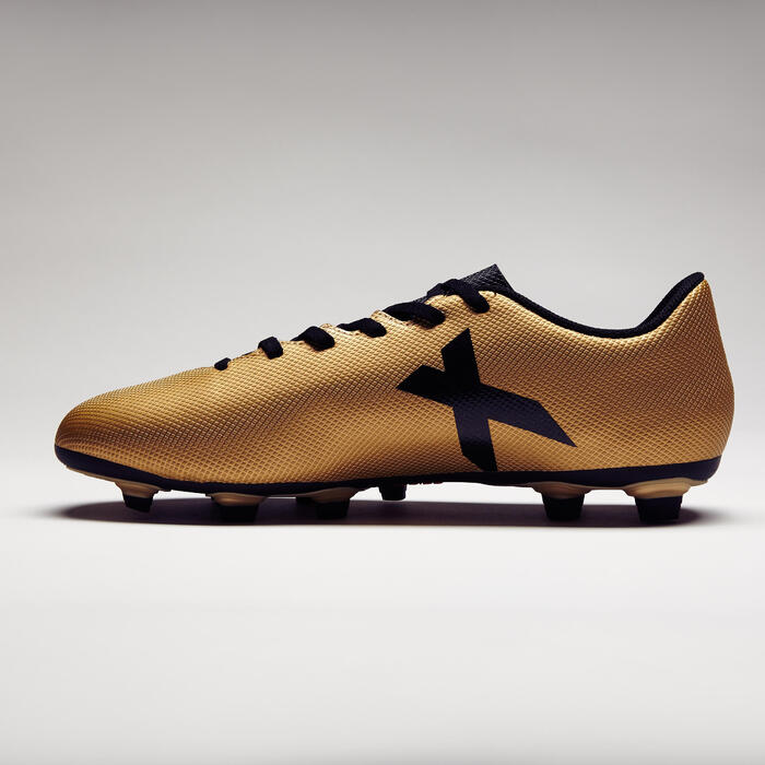 Chaussure de football adulte X 17.4 bronze - 1276860