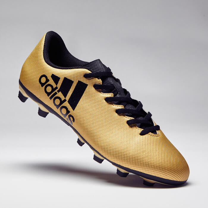 Chaussure de football adulte X 17.4 bronze - 1276862