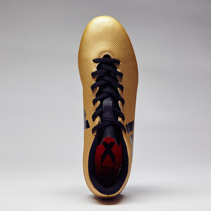 Chaussure de football adulte X 17.4 bronze - 1276865