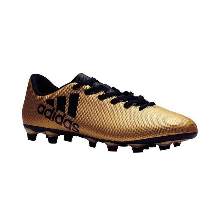 Chaussure de football adulte X 17.4 bronze - 1276866