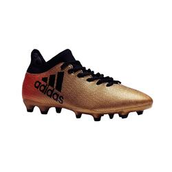 Chaussure de football adulte FG X17.3 bronze