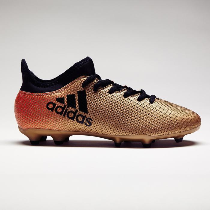 Chaussure de football enfant X 17.3 FG bronze - 1276891