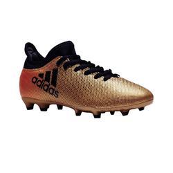Voetbalschoenen X 17.3 FG voor kinderen brons