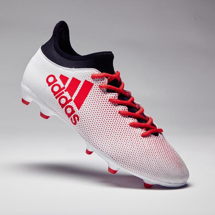 Chaussure de football adulte X 17.3 FG blanche - 1276907
