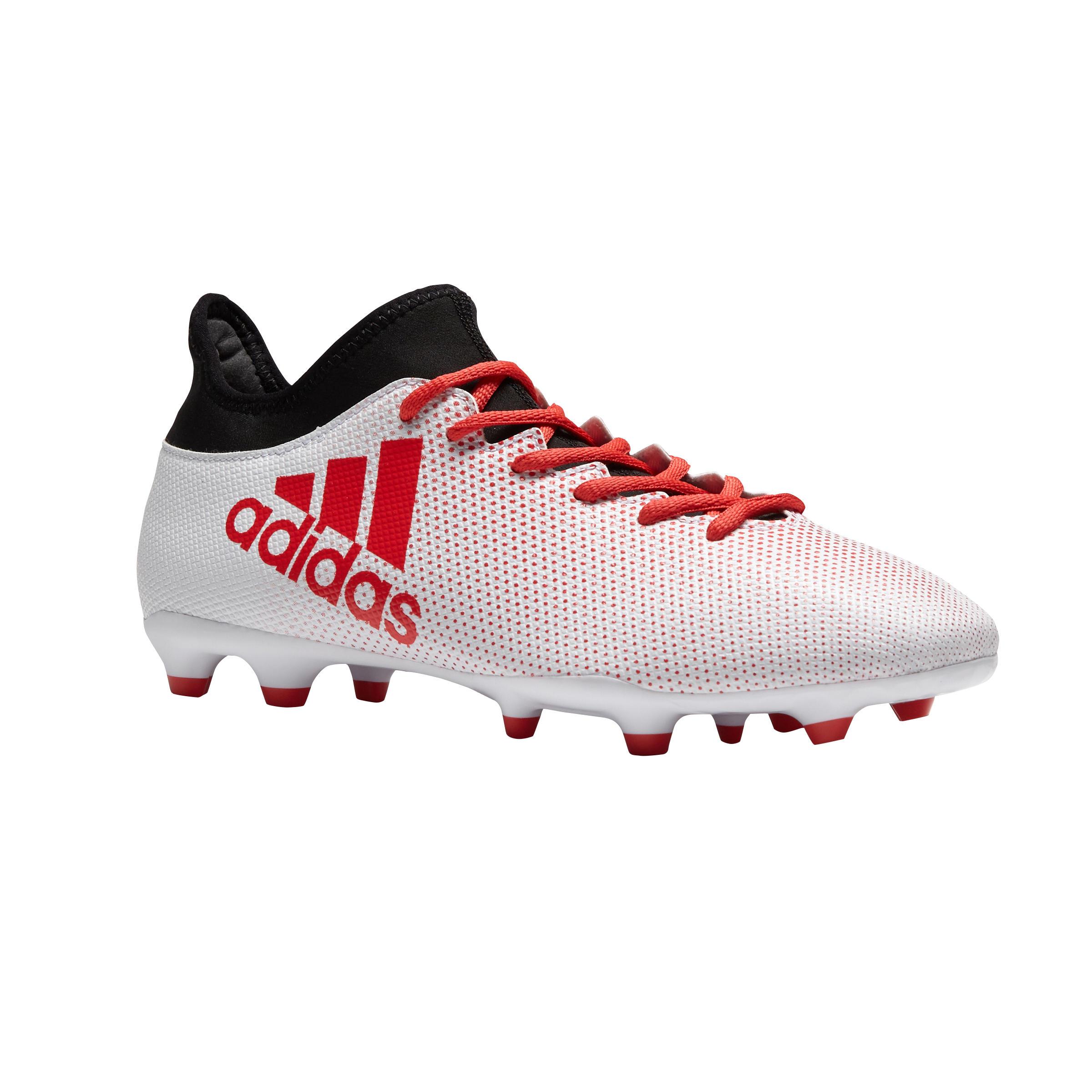 Adidas Voetbalschoenen X 17.3 FG volwassenen wit