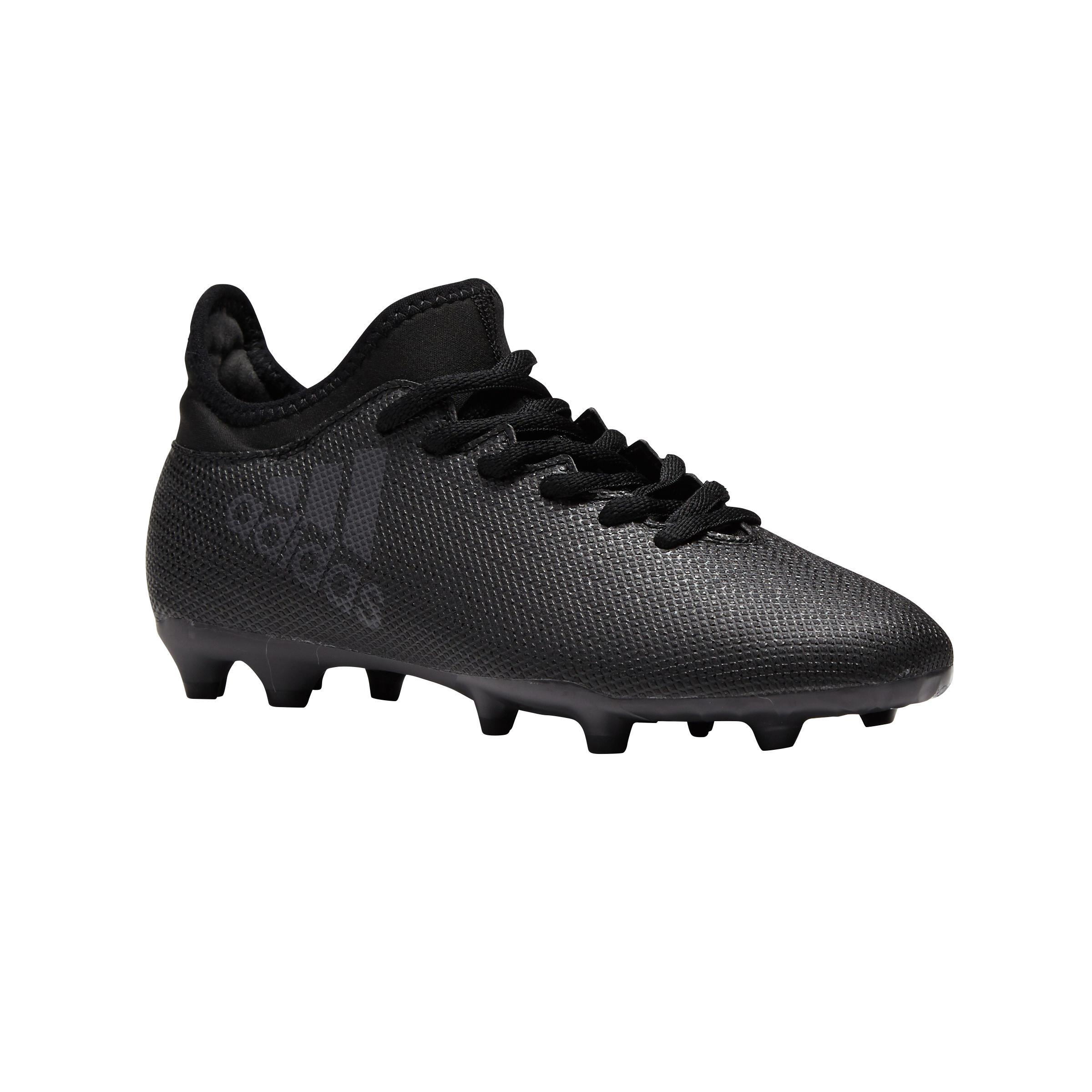 Chaussure de football enfant X 17.3 FG noire