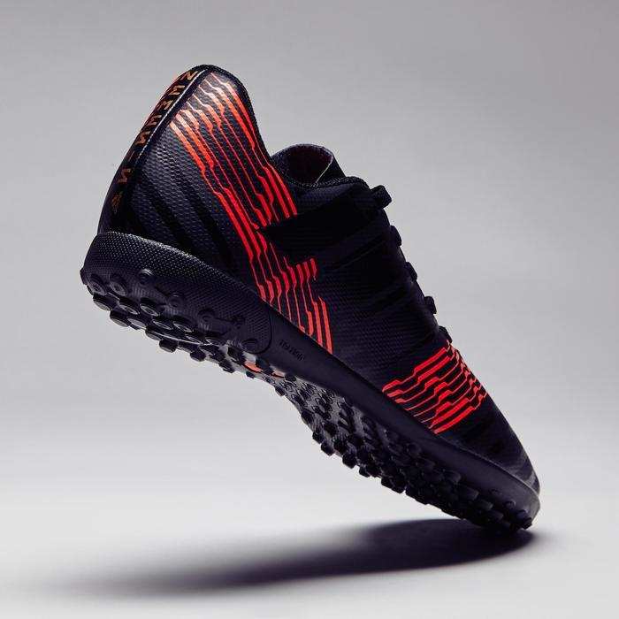 Chaussure de futsal enfant Nemeziz Tango 17.4 rouge noire - 1276936
