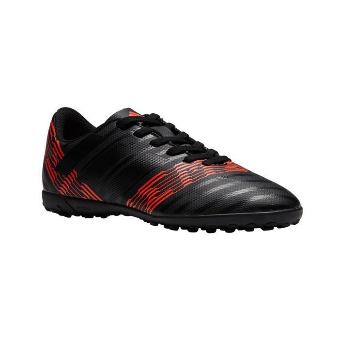 Zaalvoetbalschoenen Nemeziz 17.4 voor kinderen rood zwart