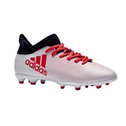 Botas de fútbol niños X 17.3 FG blanco