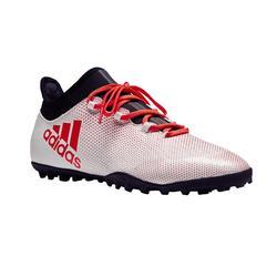 Chaussure de football enfant X 17.3 FG adulte blanche