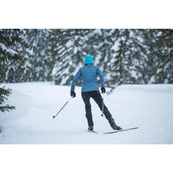 Pantalon de ski de fond coupe vent femme - 1276987