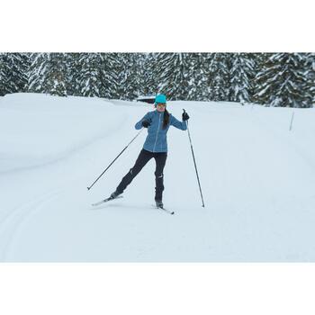 Pantalon de ski de fond coupe vent femme - 1276991