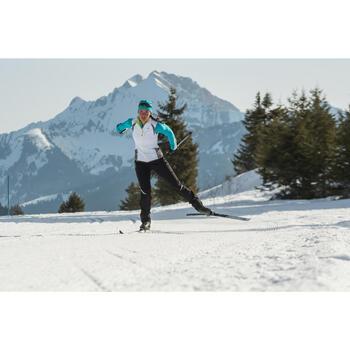 Pantalon de ski de fond coupe vent femme - 1276993