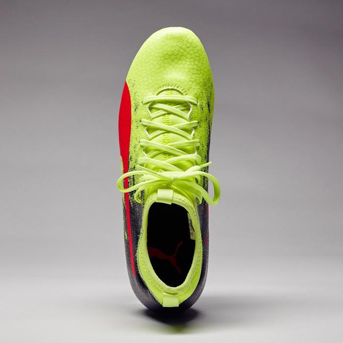 Chaussure de football Ascensa 18.4 SMU FG noire jaune - 1276996