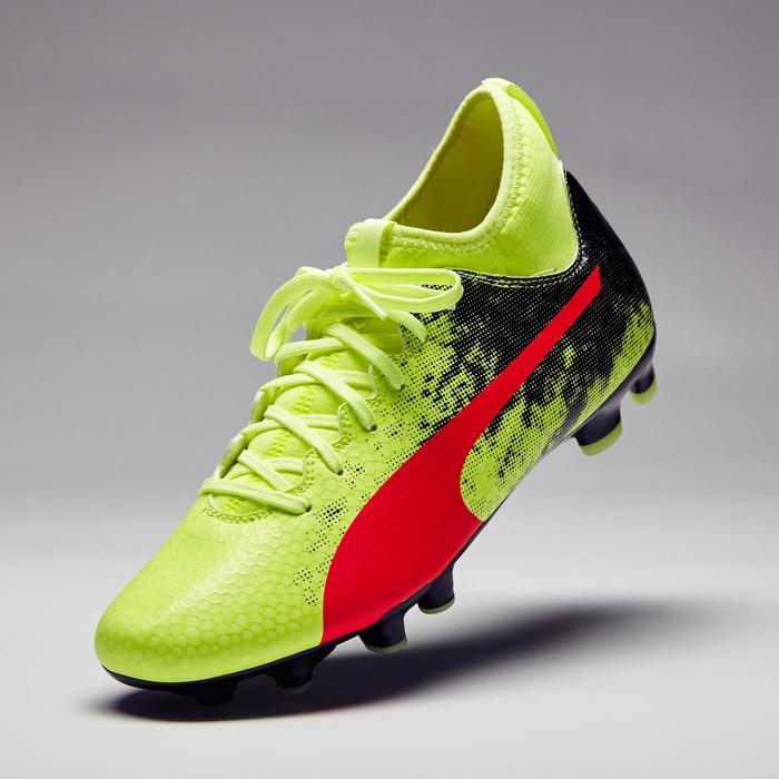 Chaussure de football Ascensa 18.4 SMU FG noire jaune - 1276998