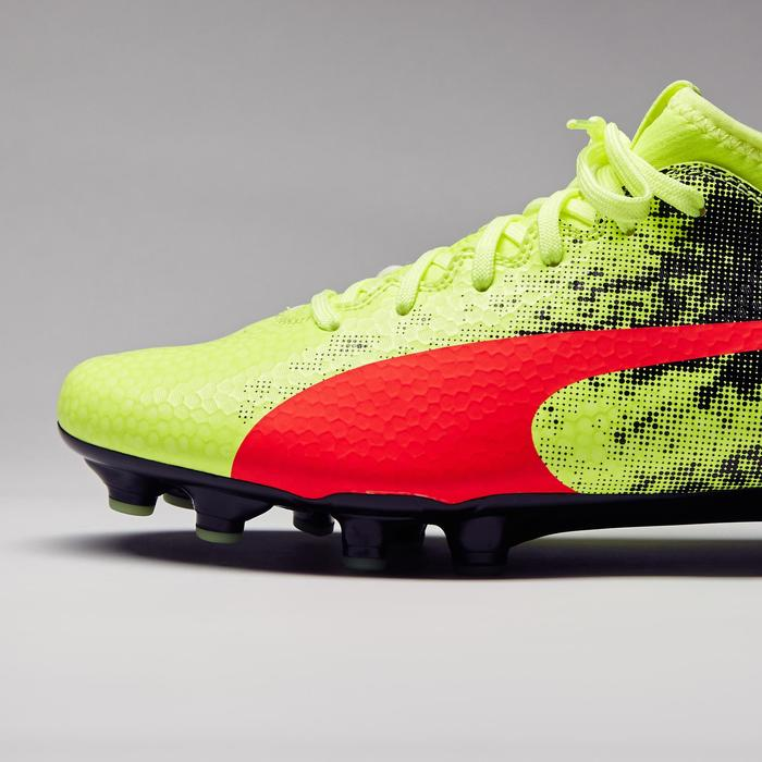 Chaussure de football Ascensa 18.4 SMU FG noire jaune - 1277000