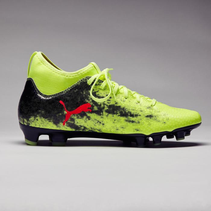 Chaussure de football Ascensa 18.4 SMU FG noire jaune - 1277004