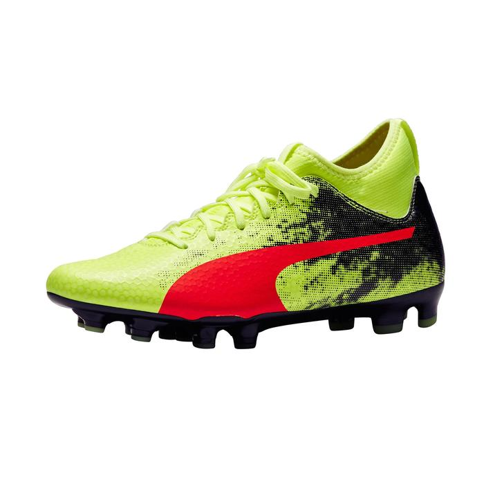 Chaussure de football Ascensa 18.4 SMU FG noire jaune - 1277005