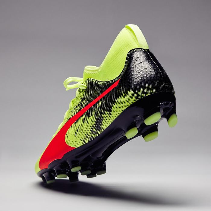 Chaussure de football Ascensa 18.4 SMU FG noire jaune - 1277008