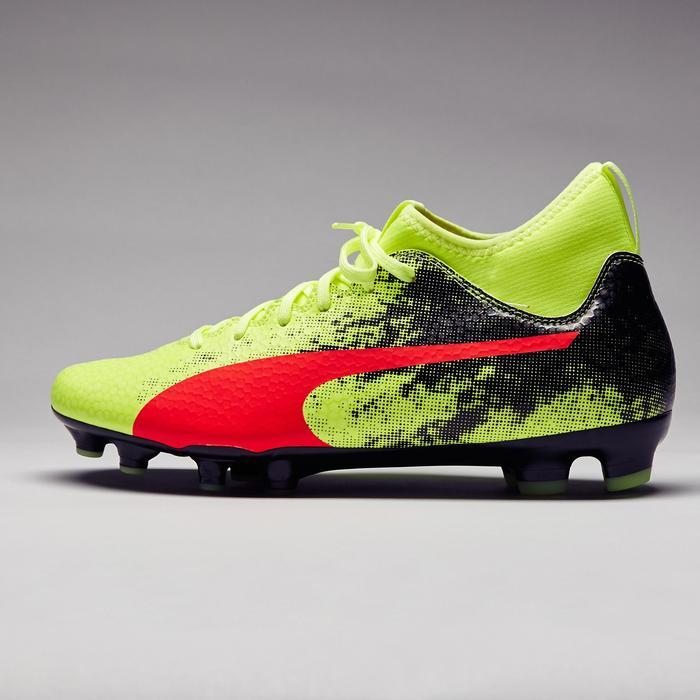 Chaussure de football Ascensa 18.4 SMU FG noire jaune - 1277009