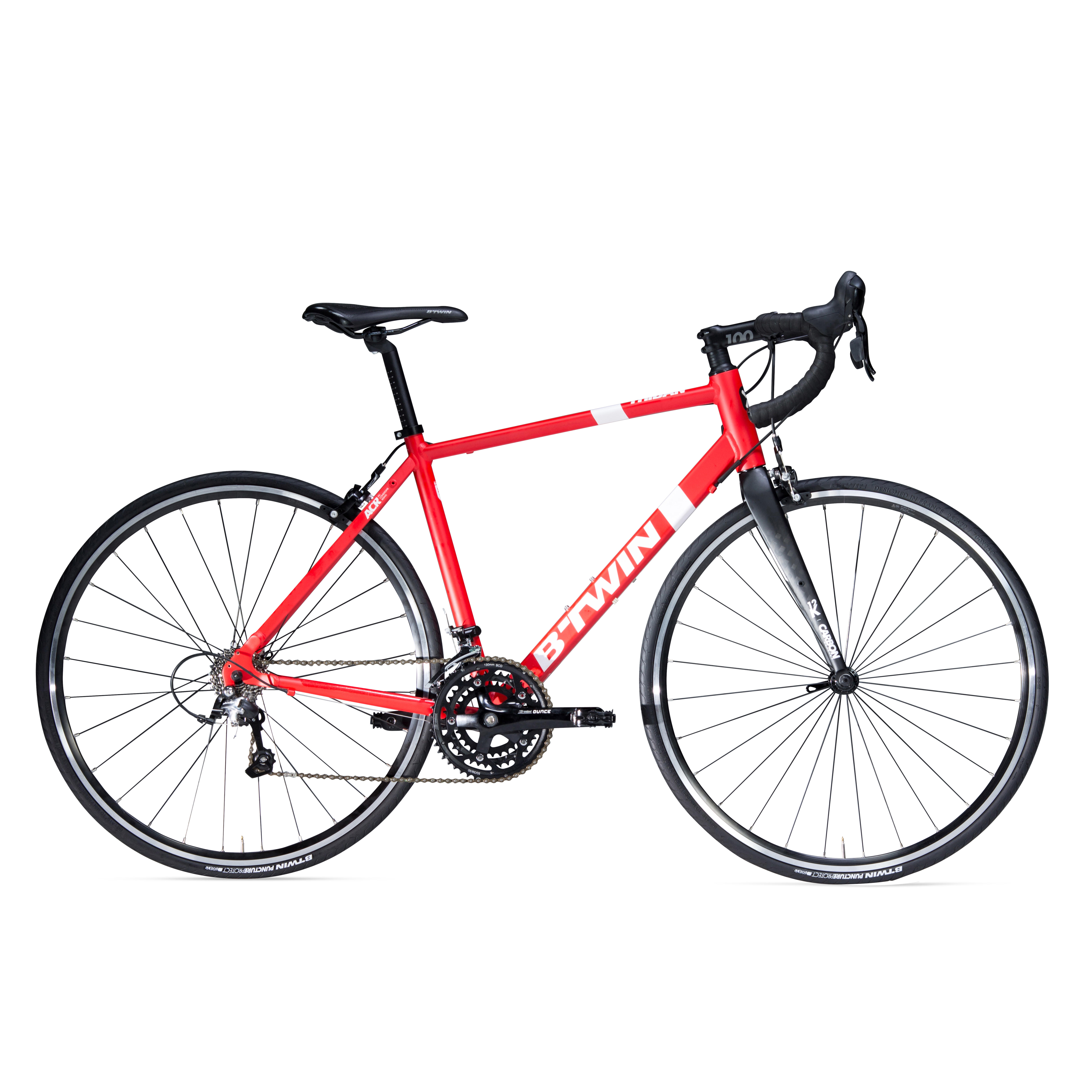 VÉLO ROUTE TRIBAN 500 ROUGE
